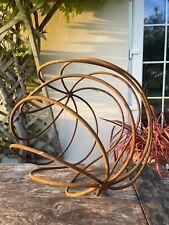 Brand new Wrought iron ball - garden decorative