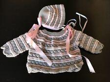 CHAQUETA DE BEBE HECHA A MANO/ REBORN / Baby New Handknitted, Handmade,