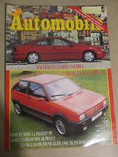LA SEMAINE AUTOMOBILE: n°196: 14/07/1990: OPEL CALIBRA - SEAT IBIZA SXI - 905 PE