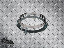 """7"""" Motorcycle Headlight Extension Anti-Vibration Trim Ring Bracket For Harley"""