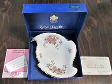 VINTAGE (1977) ROYAL DOULTON BONE CHINA CANTON PATTERN CANDY DISH IN THE BOX