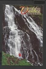 Colour Postcard Horsetail Falls Near Valdez Alaska unposted