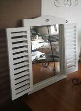 Wall Mirror Vanity Mirror Bathroom Mirror Fluspiegel White