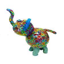 Colorful Handmade Elephant Sculpture,