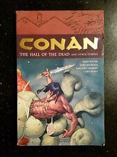 2006 Dark Horse Conan Vol. 4 Hall of the Dead & Other Stories Kurt Busiek 1st Ed