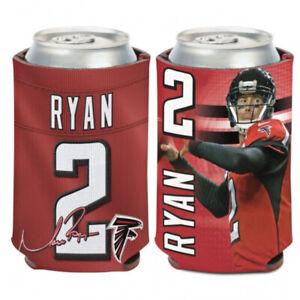 NFL Atlanta Falcons #2 Matt Ryan Insulated Can Cooler 12oz - 2 Sided Design