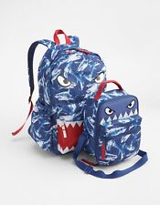 NEW NWT Gap Kids Senior Blue SHARK BACKPACK Boys Girls