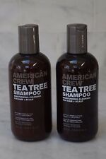 2 PACK. 8.45 oz. American Crew Tea Tree Shampoo Moisturizing Cleanser. 250ml...