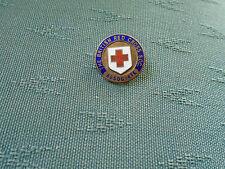 BRITISH RED CROSS SOCIETY ASSOCIATE ENAMEL PIN BADGE - GAUNT