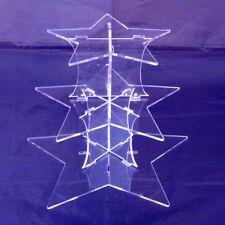 Trois Niveaux Transparent Acrylique Motif Etoile de Mariage & anniversaire