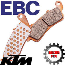 "KTM SX 85 (17""/14"" wheels) 12-13 EBC Front Disc Brake Pads FA612R UPRATED"