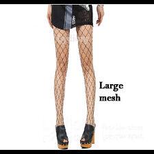 Ladies Women School Girls Mesh Fishnet Stockings Jacquard Pantyhose High Tights