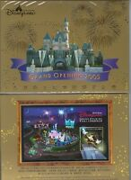 China Hong Kong 2003 2005 Pack Gold S/S Opening of Disneyland Disney stamp