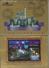 China Hong Kong 2003 + 2005 Pack Gold S/S Opening of Disneyland Disney stamp