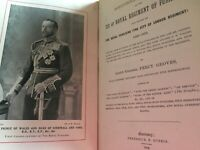 ANTIQUARIAN COLLECTIBLE BOOK HISTORICAL RECORD OF 7TH THE ROYAL FUSILIERS 1903