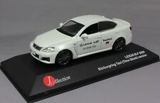 J Collection Lexus IS-F ISF Timo Glock Nurburgring Taxi 2009 JC095 1/43 NEW