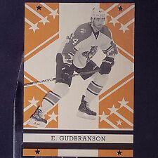 E. GUDBRANSON  2011-12  O-Pee-Chee  Retro  #615  Vancouver Canucks  ERIK