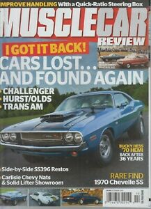 Muscle Car Review October 2019 Cars Lost...and Found Again