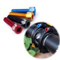4pcs Bicycle Handlebar Stem Screw M5x17mm Aluminum Alloy Bolt Fixed Gear MTB~
