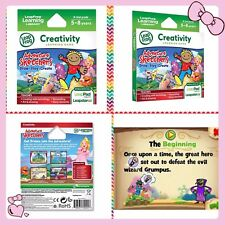LeapFrog creativity Adventure Sketchers Draw Play Learning kids Game LeapPad