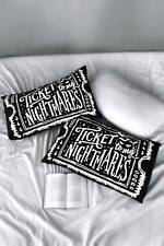 KILLSTAR ticket to my nightmares set of PILLOWCASES Gothic Witchy Goth UK Witch