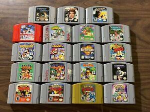 Nintendo 64, N64 Lot / Bundle - Pokemon Stadium 1+2+Snap+ Banjo Kazooie +Tooie+