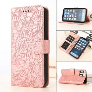 Card Slot PU Leather Skin Wallet Case Cover For iPhone 12 Pro Max 11 XR XS X 8 7