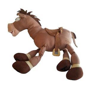 "BULLSEYE Woody's Horse Toy Story Plush Stuffed Animal Disney Store Pixar 16"""