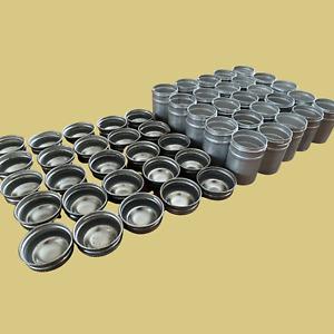 Vintage Aluminum Kodak style Film Cannisters (Metal Cap) Lot of 25