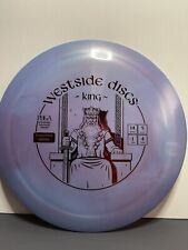 westside discs King Tournament Plactic New 10/10 Max Weight