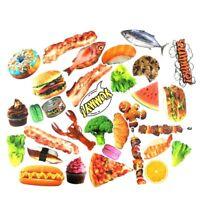 Food Photo Sticker Pack, Snack Vinyl Decal Bomb, Skateboard Lot Waterproof PVC