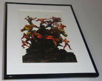 Death of Captain Marvel Marvel Zombies Framed 11x14 Poster Display