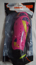 $12 Classic Sport Youth Soccer Shin Guards, Large Pink