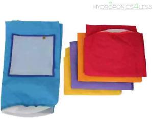 Grow Tools Bubble Bag 5 Gallon 5 Bag Kit + Screen Press (23L) Plant Hydroponics
