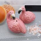 Pink Flamingo Salt & Pepper Shakers Set Cute Bird Collectible Shakers