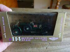 ORO BRUMM 114 BENTLEY 4.5 LITRE 1932 LE MANS WINNER GREEN NO.8 BOXED