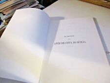 LE MONETE DELLE ANTICHE CITTA' DI SICILIA di A. SALINAS - ED. FORNI 1971