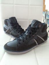 size 40 2c770 abb05 Geox Box B Sneakers Stiefeletten Boots Schuhe Leder schwarz - kombi Größe  41 Neu