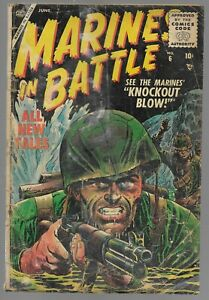 Battle Action #19 Atlas Golden Age War Comic Book 1955
