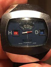 Sicura Salta Ore Data VINTAGE RARO RARE Watch. Orologio da collezione per Breitling