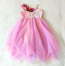Revolution Dancewear Size LC Dress Pink Purple Fairy Tulle Tutu Morning Glory