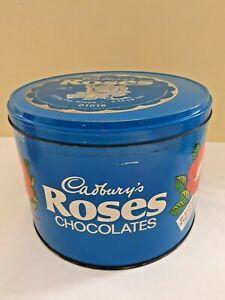 Cadbury's Roses 2.5kg Round Tin 1986 Vintage