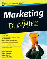 Marketing For Dummies By Ruth Mortimer, Gregory Brooks, Craig Smith, Alexander