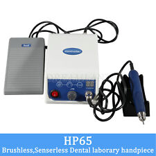 HP65 BLDC Dental Lab Marathon micromotore + Handpiece 50K RPM Polishing ITA