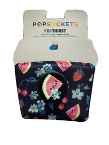 """PopSockets® PopThirst Cup sleeve for Vera Bradley In """"Fruit Grove"""""""