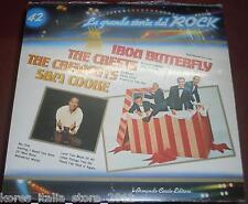 """IRON BUTTERFLY THE CRESTS CREWCUTS SAM COOKE """"La Grande Storia del ROCK (42)"""" LP"""