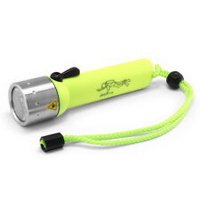 Led Lenser D14.2 Diving Lamp Yellow in Gift Box 400 Lumens Flashlight Torch