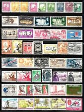 COLOMBIA Assorted Stamps Lot of 47
