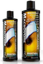 Brightwell Aquatics Macrovore, Macrodiet for Anemones, LPS Corals & Planktivorou