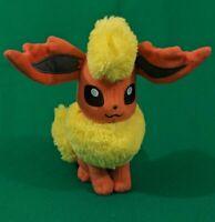"Tomy Pokemon Flareon Plush 8"" Stuffed animal Pokemon"